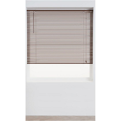 Image for Home of Style Teak Wood 25mm Venetian Blind - 60cm from StoreName