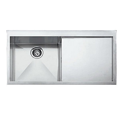 Image for Franke Planar 211 Stainless Steel Kitchen Sink - 1 Bowl from StoreName