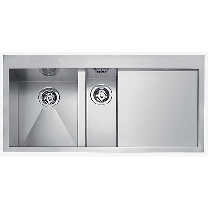 Image for Franke Planar 251 Stainless Steel Kitchen Sink - 1.5 Bowl from StoreName