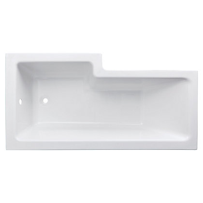 Image for Emberton New L Shaped Shower Bath - Right Hand from StoreName
