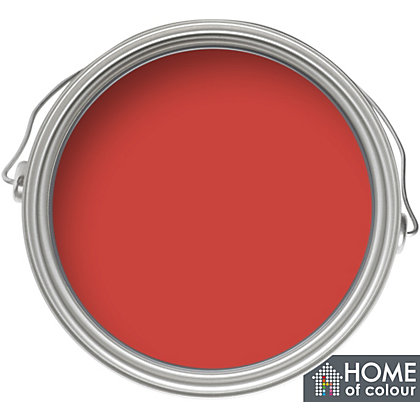 Image for Home of Colour Just One Coat Flame - Matt Emulsion Paint - 2.5L from StoreName