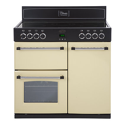 Image for Belling Classic 90E Electric Range Cooker - Cream from StoreName