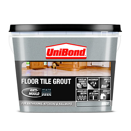 Unibond Ready Mixed Floor Grout Grey 375kg