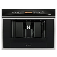 Hotpoint Luce MCX103XS Coffee Machine- Stainless Steel