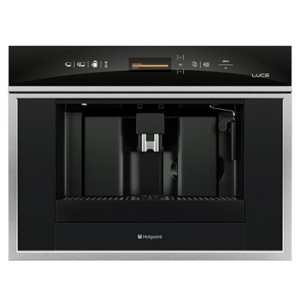 Delonghi Coffee Maker Homebase : Hotpoint Luce MCX103XS Coffee Machine- Stainless Steel