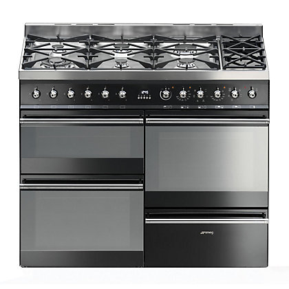 Image for Smeg Multifunction Symphony Range Cooker - SYD4110BL from StoreName