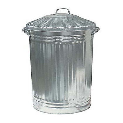Image for Metal Bin with Lid - 84L from StoreName