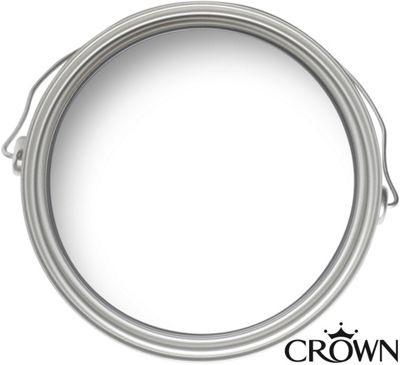 Crown White Cupboard Makeover Paint - 750ml