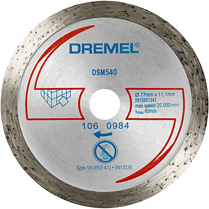 Image for Dremel DSM20 Tile Cutting Wheel from StoreName