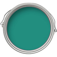 Home of Colour Feature Wall Spring Teal - Matt Emulsion Paint - 1L