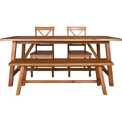 Canonbury Table Bench And 2 Chairs At Homebase Be