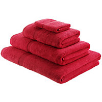 Habitat Egyptian Cotton Raspberry Pink Face Cloth