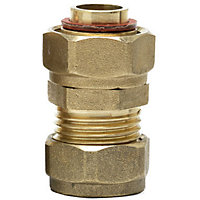 Compression Tap Connector - Brass - 15mm - 3/4in