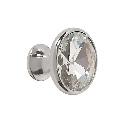 Image for Crystal Knob - Polished Nickel from StoreName