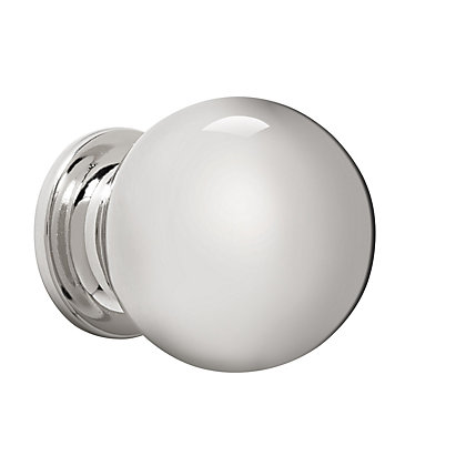 Image for Solid Ball Knob 30mm - Polished Nickel from StoreName