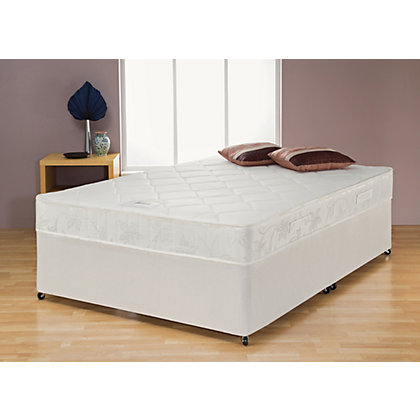 Airsprung Louis Memory Foam Small Double Divan Non Storage At Homebase Be Inspired And Make