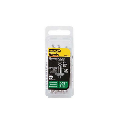 Image for Stanley Rivets - Medium - 4mm - 20 Pack from StoreName