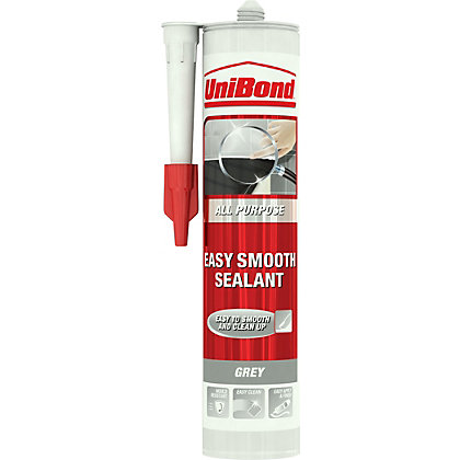 Image for UniBond All Purpose Easy Smooth Sealant - Grey - 300ml from StoreName