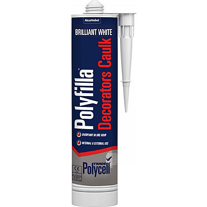 Image for Polycell Trade Decorators Caulk White Cartridge - 380ml from StoreName