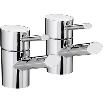 Image for Bristan Oval Basin Taps from StoreName
