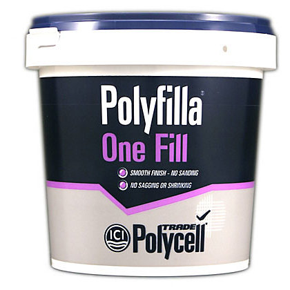 Image for Polycell Trade One Fill Polyfilla - 1L from StoreName