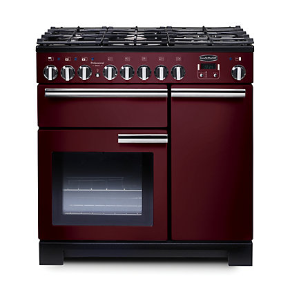 Image for Rangemaster 97620 Professional Deluxe 90cm Dual Fuel Range Cooker - Purple from StoreName