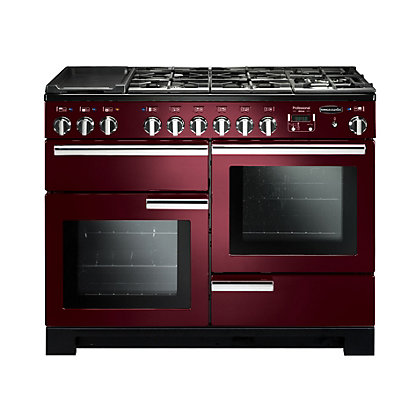 Image for Rangemaster Professional Deluxe 110cm Dual Fuel Range Cooker - Purple from StoreName
