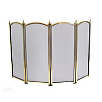 Mansion 25in Four Way Fire Screen