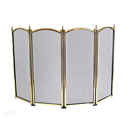 Image for Mansion 25in Four Way Fire Screen from StoreName