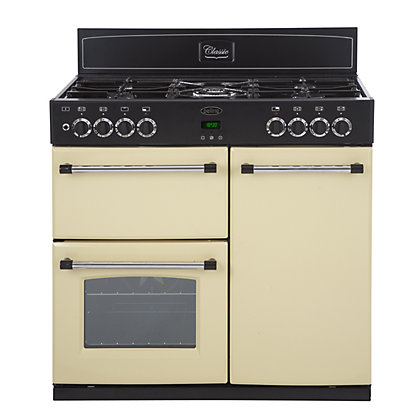 Image for Belling Classic 90DFT Dual Fuel Range Cooker - Cream from StoreName