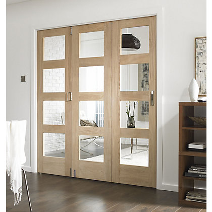 Image for Room Glazed Fold Doorset - 1929mm Wide from StoreName