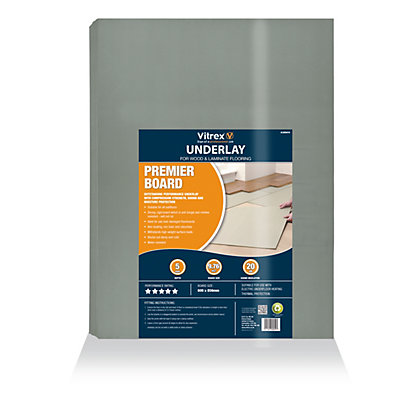 Image for Vitrex 5 Star Sound Reduction Underlay - 9.76 sq m from StoreName