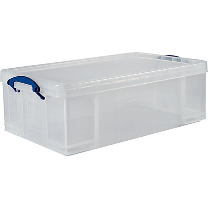 Image for Really Useful Box - Clear - 50L from StoreName
