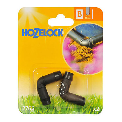 Image for Hozelock Elbow Connector - 90 Degree - 13mm from StoreName