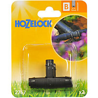 Hozelock Plastic T Piece - 13mm