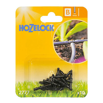 Image for Hozelock Plastic T Piece for Automatic Watering System - 4mm from StoreName