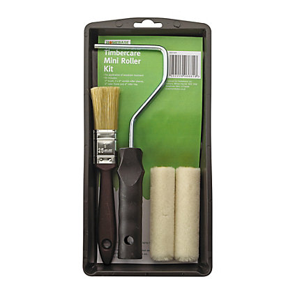 Image for Timbercare Mini Roller & Brush Kit from StoreName
