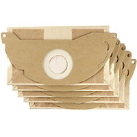 Karcher WD2 Paper Filter Bags- 5 Pack