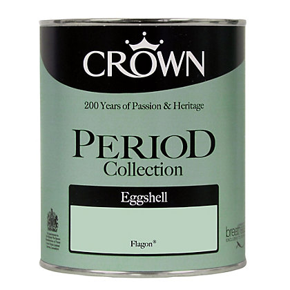 Image for Crown Period Colours Breatheasy Flagon - Silk Eggshell Paint - 750ml from StoreName