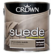 Crown Fashion For Walls Chocolate - Suede Matt Emulsion Paint - 2.5L
