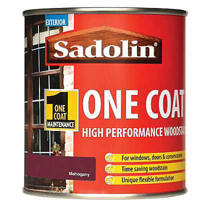 Image for Sadolin Advanced One Coat Woodstain - Mahogany - 500ml from StoreName