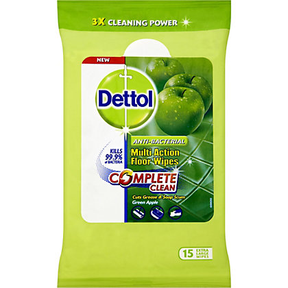Image for Dettol Multi Action Floor Wipes from StoreName