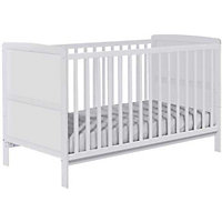 BabyStart Cot Bed - White.