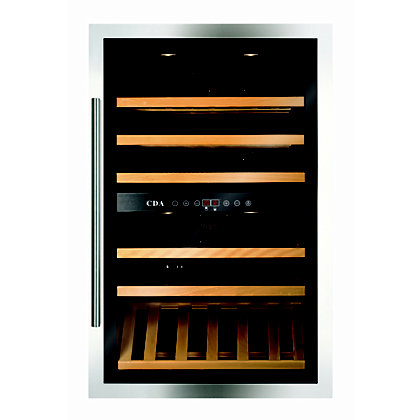 Image for CDA FWV901SS Integrated Wine Cooler - 90cm - Stainless Steel from StoreName