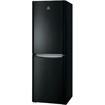 Image for Indesit BIAA 12P X Fridge Freezer - Black from StoreName