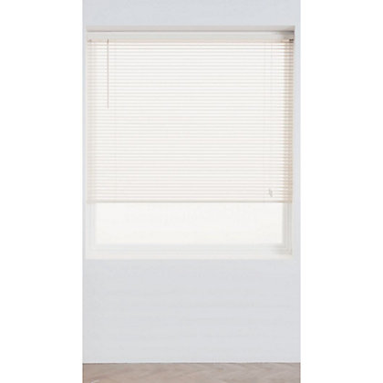 Image for Home of Style Chalk Wood 25mm Venetian Blind - 60cm from StoreName