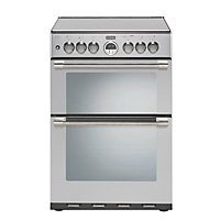 Stoves Sterling 600G Gas Cooker - Stainless steel.