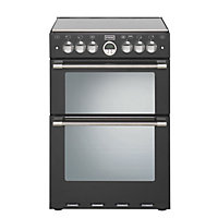 Stoves Sterling 600G Gas Cooker - Black.