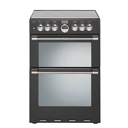 Image for Stoves Sterling 600DF Dual Fuel Cooker - Black. from StoreName