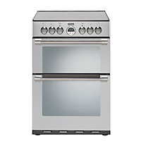 Stoves Sterling 600E Electric Cooker - Stainless Steel